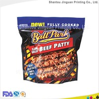 High quality plastic bags beef jerky packaging company