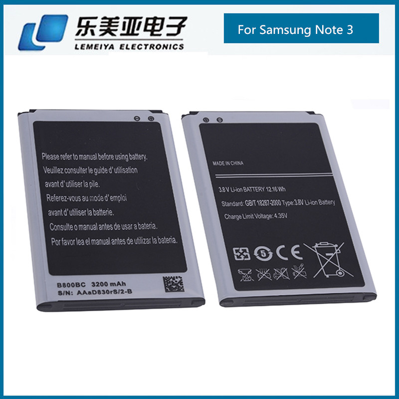 High capacity 3200mAh Battery for Samsung Galaxy Note III 3 battery N9000