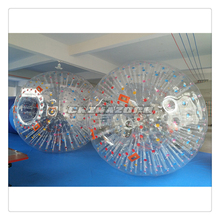 Most popular sale colorful dots inflatable adult zorb ball
