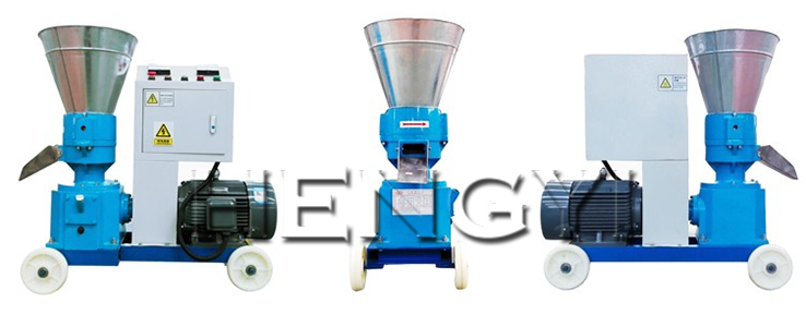 Mini animal food extruder/ feed making machine /chicken feed pellet machine