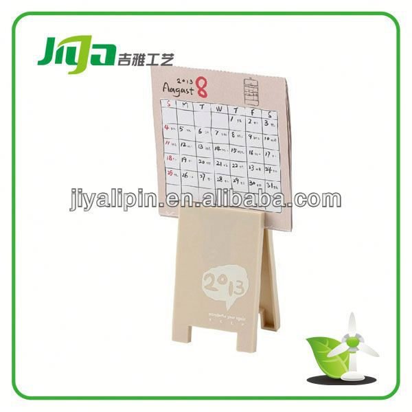 OEM waterproof multifuntion table calendar