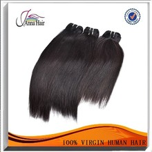 Anna hair natural 100% brazilian human hair bundles virgin real unprocessed hair