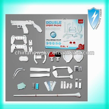 for Wii 58 in1 double sport kits pack for nintendo wii accessories