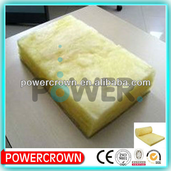 Roof sound proof and fire proof fiber glass wool batts/ fiberglass insulation batts