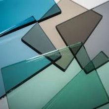 colored Tempered laminated glass sheet