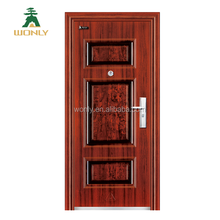 French Italian cheap exterior security steel door