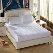High Quality Brushed Microfiber Hotel Home Quilted Fitted Mattress Protector