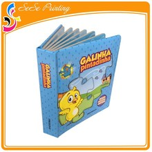 Film Lamination Surface Finish China Book Printer Printing Puzzle Children Book