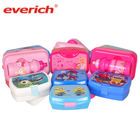 Everich Quality Food Containers Airtight Lunch Box Containers with Snap Locking Lids Safe PP Material Plastic Lunch Boxes
