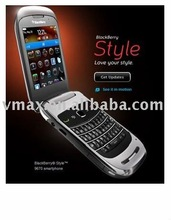 Fingerprint proof screen protector / screen guard / protector film for 9670 blackberry