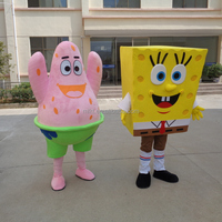High quality hot sell cartoon spongebob mascot costumes