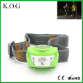New Bright 3 Modes Plastic Cre LED Head Lamp with Adjustable Head
