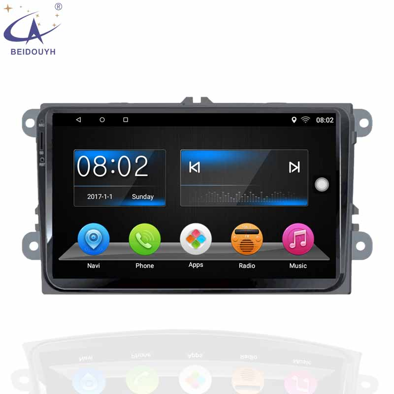 Android 6.0 Car Player For Volkswagen Universal Car Gps Navigator With Radio Car Gps Navigation System