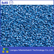 hips raw plastics materials paticles blue masterbatch for kinds of construction