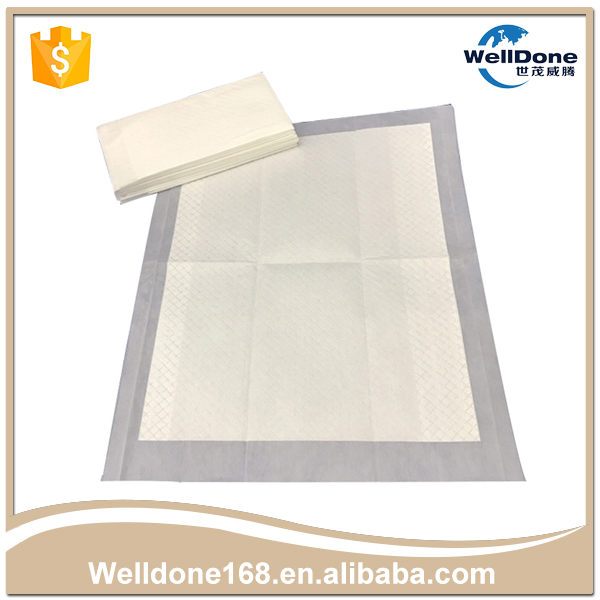 Breathable waterproof nonwoven top sheet pet pee pad for dog