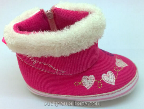 wholesale beautiful global warming baby shoes with zipper