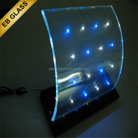 electrical color change LED glass, EB GLASS