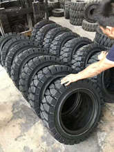 Factory Hot tire model Cheap price forklift rubber solid tyres