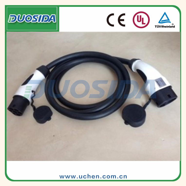 Dostar ev connector plug iec 62196-2 car charger cable