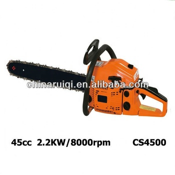 4500 45cc gasoline chain saw for gardening and agriculture