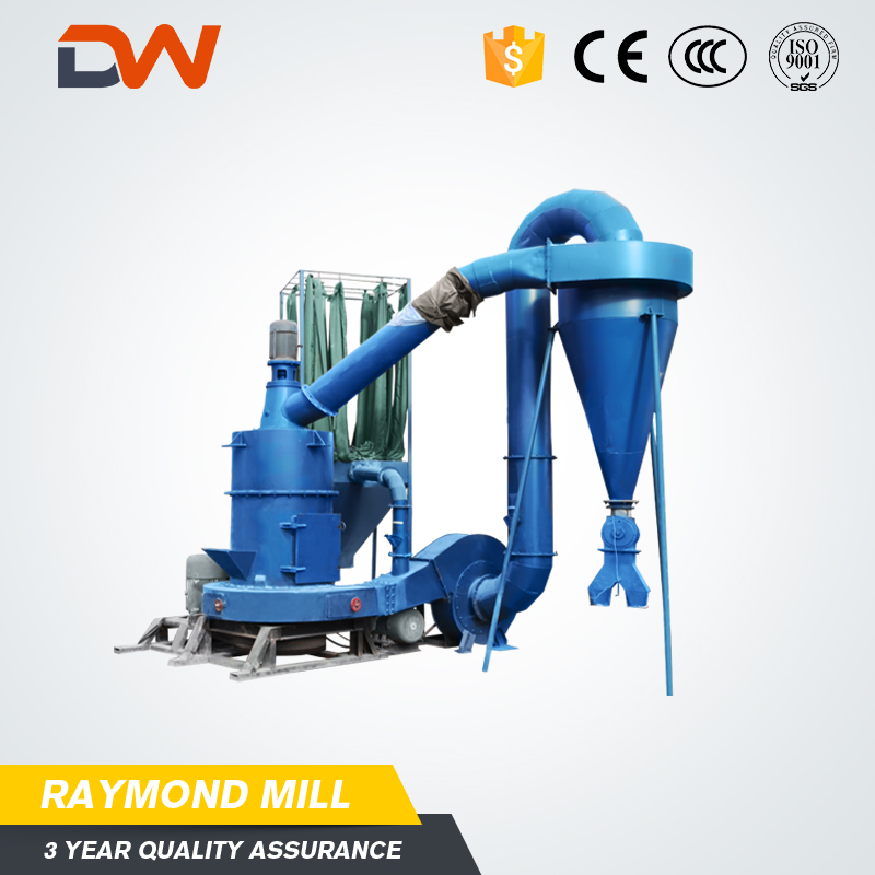 Henan hgm series micro powder raymond grinding mill gypsum powder production line machine price for sale