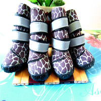 Wholesale New Pet Supplies Fall Winter Camouflage Pet Shoes Dog Boots