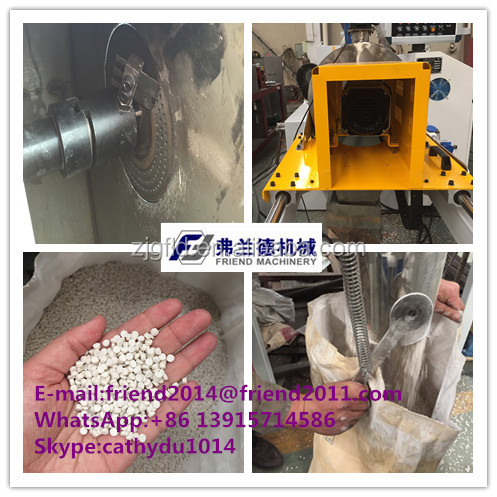 High Efficiency Plastic PP PE Film Granulator machine/granulation line