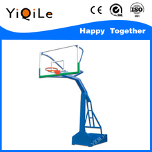 Movable basketball ring hoop stand