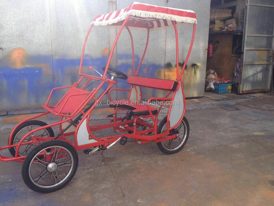 ENTERTAINMENT FOUR-WHEEL BIKE