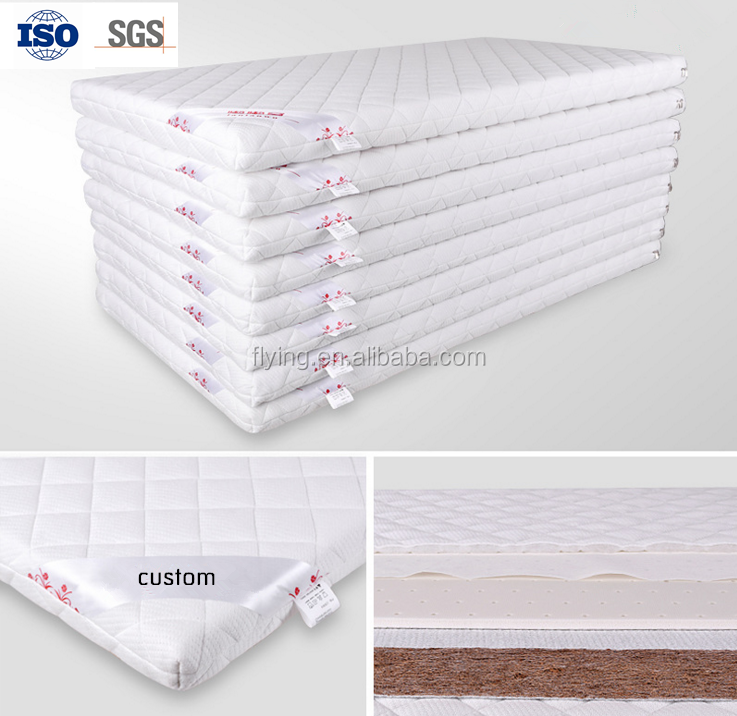 OEM soft natural latex mattress baby coconut palm mattress - Jozy Mattress | Jozy.net