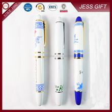 2015 High quality blue and white Porcelain pen for promotion
