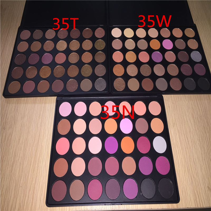 Eyeshadow palette 35 color Factory wholesale makeup mixing palette kiss beauty cosmetic eyeshadow