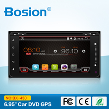 Bosion 6.95 Inch Android Full Touch Aux in Bluetooth DVD Player for Toyota avanza Audio System with Wifi and 3G