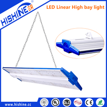 Led Linear High Bay Fitting 250W Led Tube Light with motion sensor For Parking Garage Supermarket Warehouse
