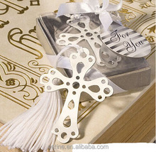 Baptism communion or christening Book Lovers Cross Wedding Favor Decoration gifts