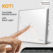 Koti Hot Sales Touch Light Switch With Remote Control For Smart Home