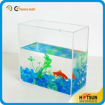 Small Aquarium/ Small Fish Tank/ Series mini Aquarium