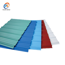High quality apvc resin Spanish style anti-corrosive pvc roofing tile material