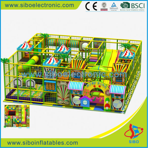 GMB-D025 kids indoor play equipment for sale from guangzhou