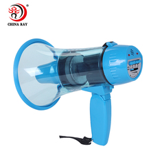 foldable outdoor alarm High voice multicolor Small size handheld recording megaphone