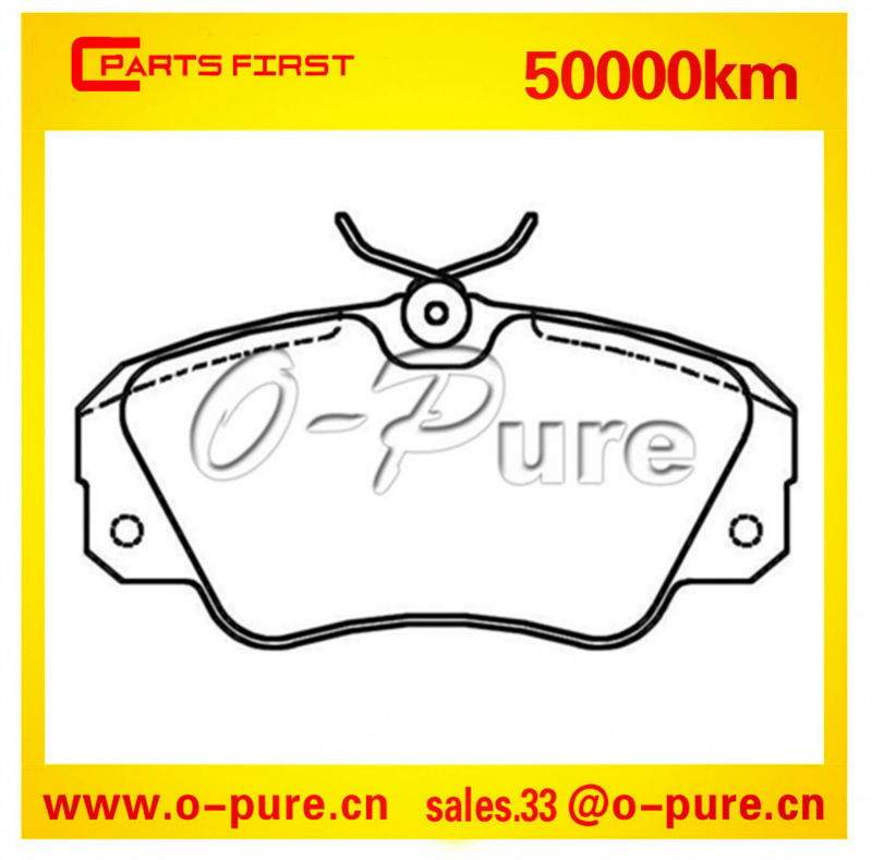 Opel spare parts wholesale Omega parts O-pure ceramic brake pad OE 1605 782 None asbestos high quality best seller