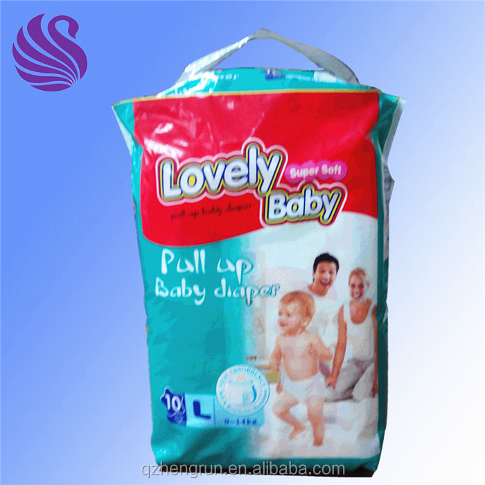 China supplier the disposable baby diaper nappy in bales oem for teen
