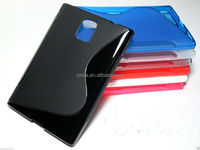 New S Line TPU Silicone Gel case for BlackBerry Passport Q30