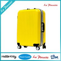 2015 fashionable super light trolley handle vintage trolley luggage with durable wheels