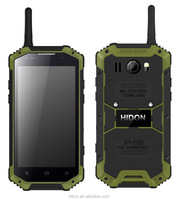 China rugged phone 4.7 inch quad core 4G walkie talkie android 4.4 NFC GPS