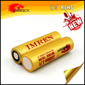 Big Sale!!imren 18650 3500mah rechargeable battery 3.7v 35Amp discharge li ion cells with flat top inr18650
