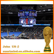 Sunrise indoor full color scoreboard for sports stadium, can display time, score and live broadcast