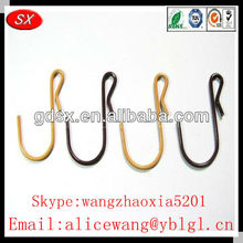Customized black cup hooks,brass plated cup hook ,stainless steel cup hooks in Dongguan
