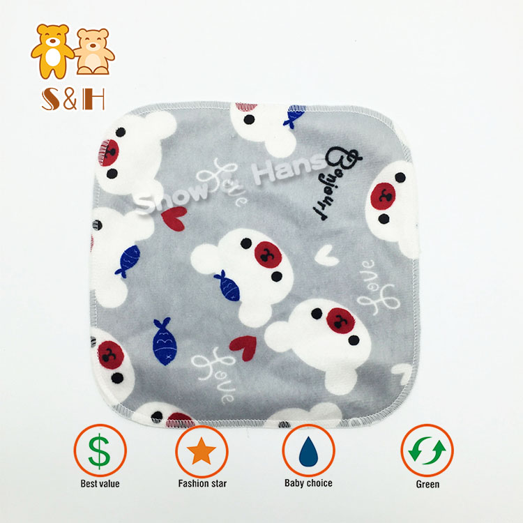Super Absorbent Cute Bamboo Wipe for Baby