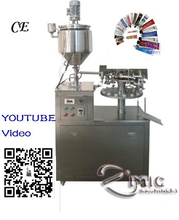 Micmachinery instant glue filling and sealing machine aluminum tube filling and sealing mchine with CE speed 30-50tubes /min